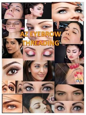 AZ Eyebrow Threading