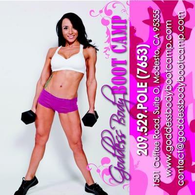 Venus Pole Fitness & Goddess Body Boot Camp