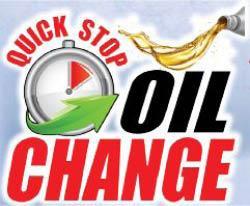 Quick Stop Oil Change