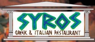 Syros Greek & Italian Restaurant