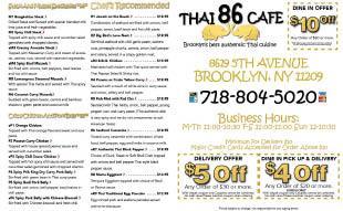 Thai 86 Cafe