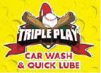 TRIPLE PLAY CAR WASH & Quick Lube