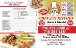Chef Jan Gourmet Inc