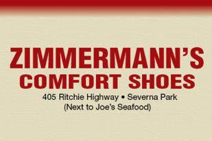 ZIMMERMANN'S COMFORT SHOES