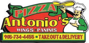 Antonio's Pizza Wings Paninis