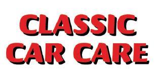 Classic Car Care  ##