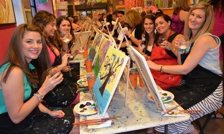 Saratoga Paint and Sip Studio