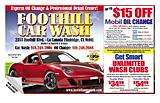 Foothill Car Wash Lube Oil & Detail Center