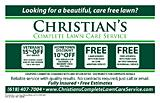 Christian's Complete Lawn Care