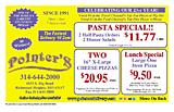 Pointer's Pizza
