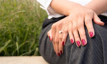 Blue Aruba Nails