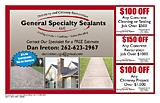 General Specialty Sealants