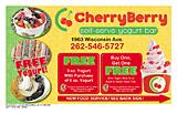 CHERRYBERRY SELF SERVE YOGURT BAR - GRAFTON/CDRBRG