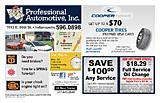 Professional Automotive Service, Inc.