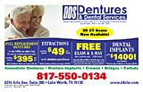 Dentures And Dental Services-