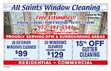 All Saints Window Cleaning