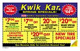 Kwik Kar 964-3462