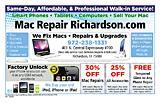 Mac Repair Richardson