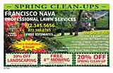Francisco Nava Lawn Services