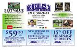 Gonzalez's Irrigation Service