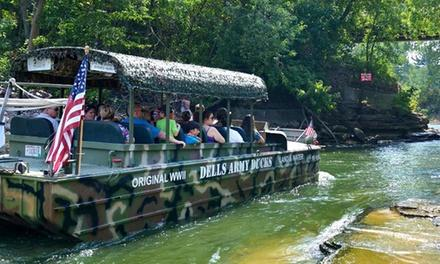 Dells Army Duck Tour