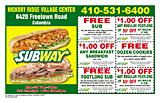 Subway Hickory Ridge
