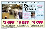 Domenic's Cleaners & Tailors