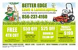 Better Edge Lawn && Landscaping