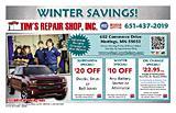 Tim's Repair Shop, Inc.