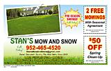 Stan's Mow And Snow