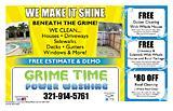 Grime Time Power Washing