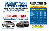 Summit NJ Taxi Service