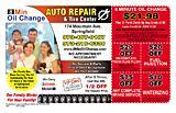 8 Min Oil Change Auto Repair & Tire Center