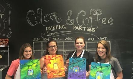 Color and Coffee Painting Parties
