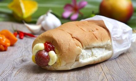 Hula Dog Hawaiian Style Hot Dogs