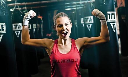 TITLE Boxing Club Malvern