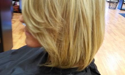 Cristileigh At Euro Hair Studio