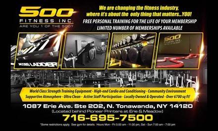 500 Fitness Inc.