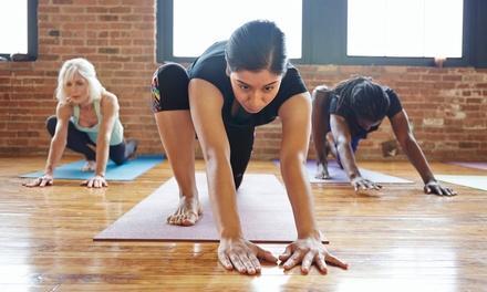 Yoga with Hillary