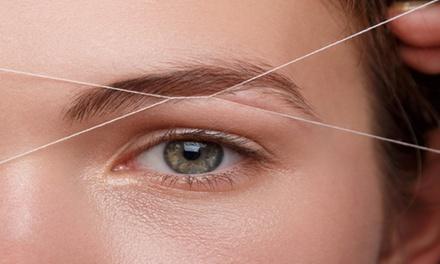 Golden Eyebrow Threading