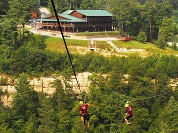 Red River Gorge Zipline Tours