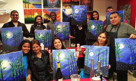 Paint Drink Party and Fun
