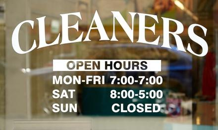 Fresh & Clean Dry Cleaners