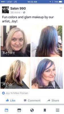 Joy's Hair Design & Makeup