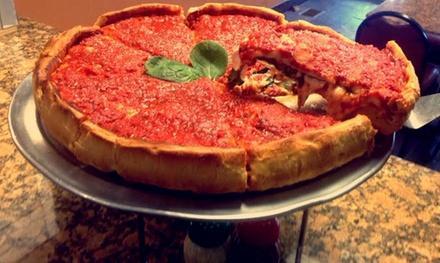 Angelo S Stuffed Pizza