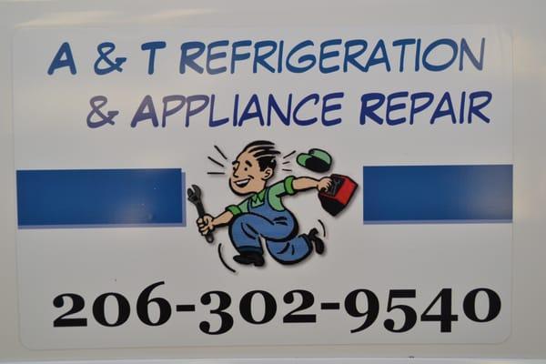 A&T Refrigeration & Appliance Repair