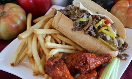 Philly Steak & Wings