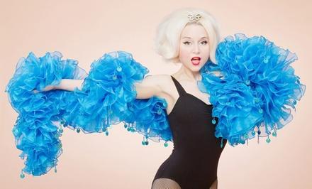 Miss Indigo Blues Academy of Burlesque