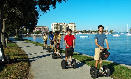 Segway Tour of Tampa, Sarasota, or St. Pete