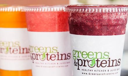 Greens and Proteins